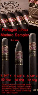 Partagas-Maduro-LineaSAMPLER